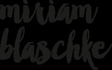 Miriam Blaschke