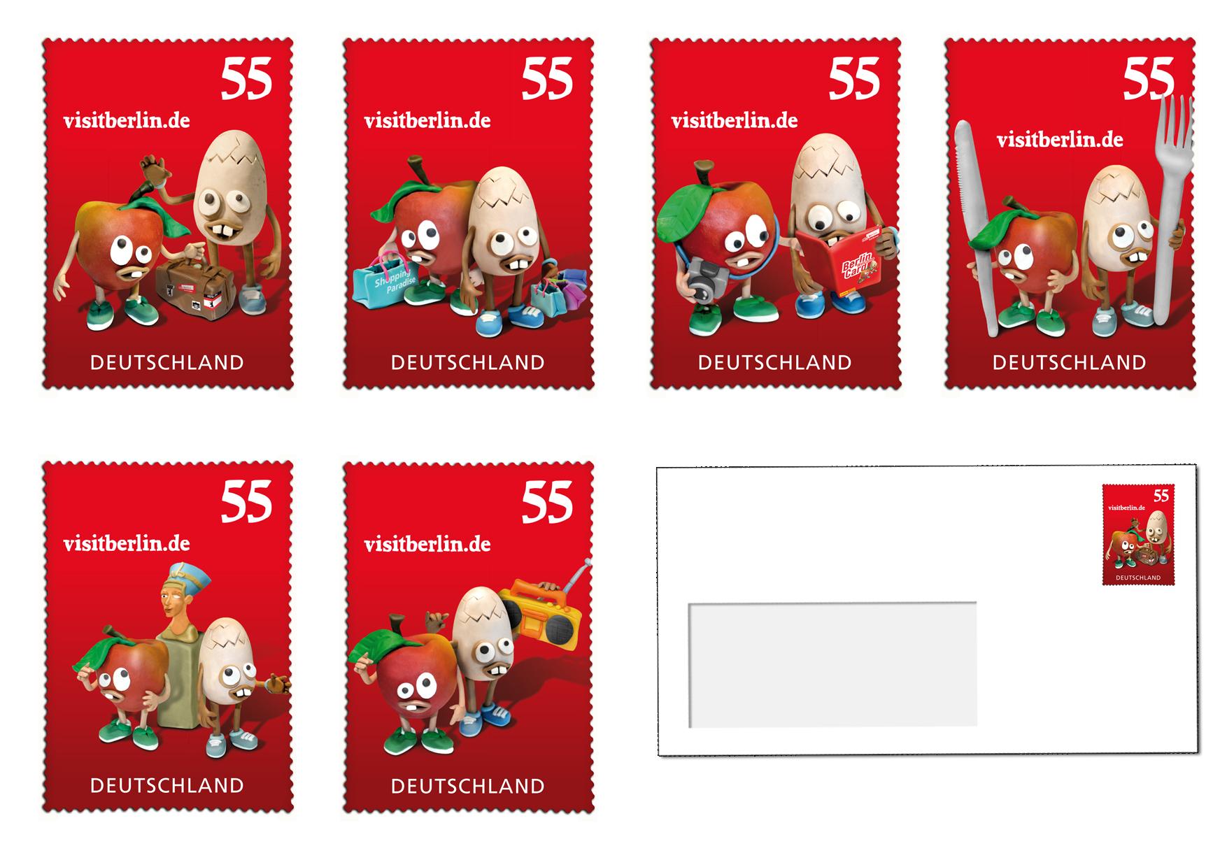 BTM-09.001-AuE Briefmarken alle