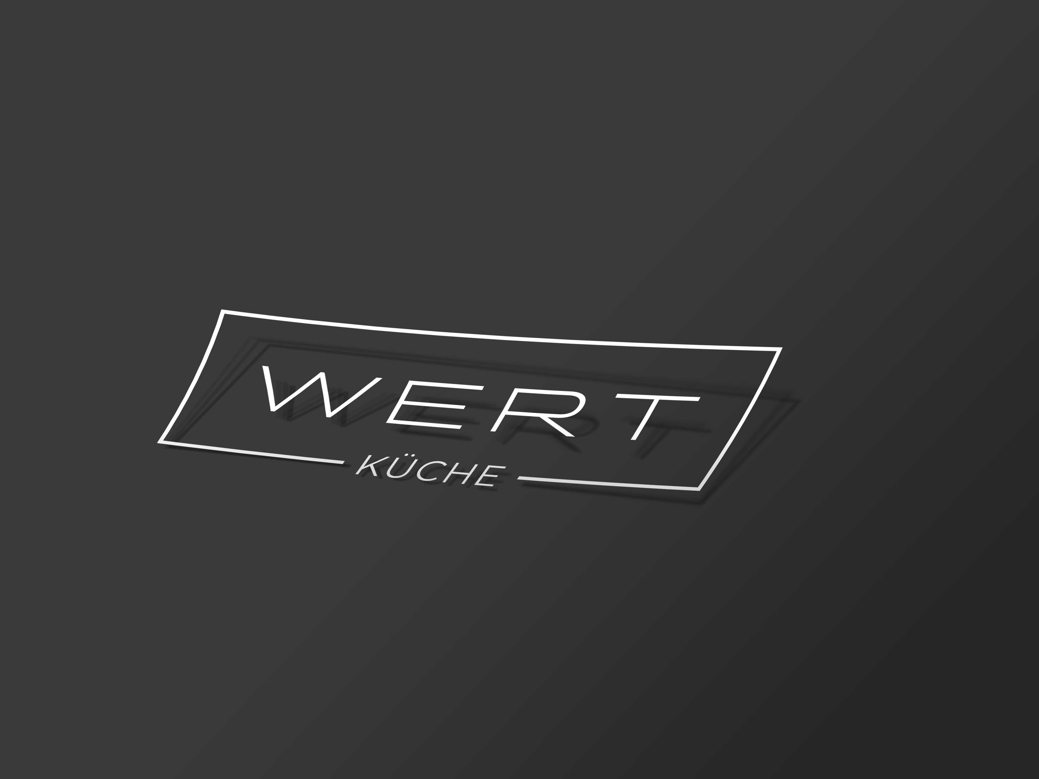Wertkueche_Folienschrift